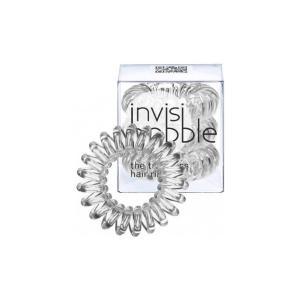 Резинки для волосся  Invisibobble прозорі 3 шт - 00-00007294