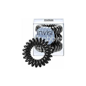 Резинки для волосся  Invisibobble чорні 3 шт - 00-00007295