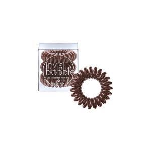 Резинки для волосся Invisibobble коричневі 3 шт - 00-00007296