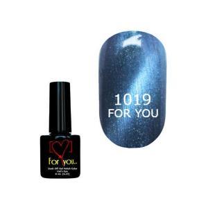 Гель-лак для ногтей For You 'Cat Eye' №1019 8 мл - 00-00007343