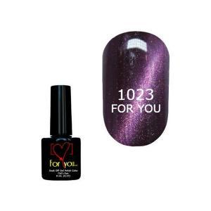 Гель-лак для ногтей For You 'Cat Eye' №1023 8 мл - 00-00007347