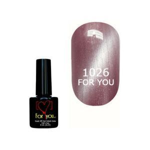 Гель-лак для ногтей For You 'Cat Eye' №1026 8 мл - 00-00007350