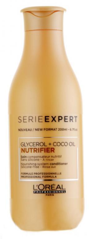 Кондиціонер для сухого та ламкого волосся L'Oreal Professionnel Nutrifier 200 мл - 00-00007387