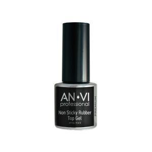 Каучукове фінішне покриття без липкого шару  ANVI Professional  Rubber Top No Wipe 9 мл - 00-00007396