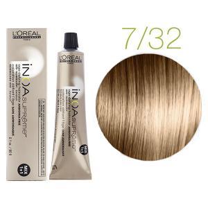 Крем-краска для волос L'Oreal Professionnel INOA Mix 1+1 №7/32 Блондин золотисто-медный 60 мл - 00-00007425