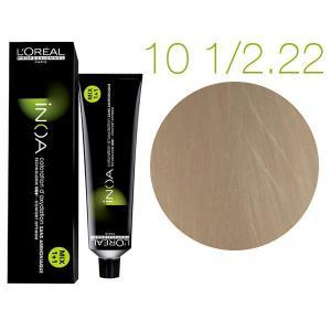 Крем-фарба для волосся L'Oreal Professionnel INOA Mix 1+1 №10-1/2,22 Platinblond Licht Tiefes Irise 60 мл - 00-00007443