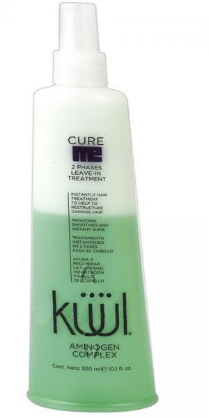 Двухфазный увлажняющий спрей для сухих и поврежденных волос Kuul Cure Me 300 мл - 00-00007446