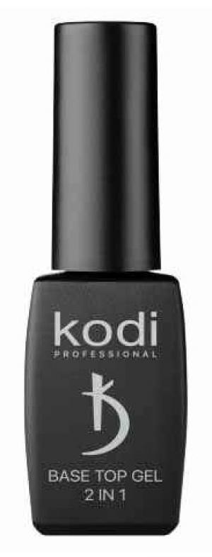 Основа та топ для гель-лаку 2 в 1 Kodi Professional Base&Top 8 мл - 00-00007455