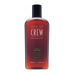 Засіб для догляду за волоссям та тілом 3-в-1 American Crew Classic Tea Tree 450 мл - 00-00007456