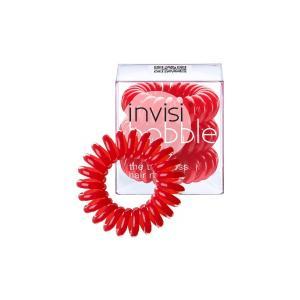Резинки для волосся  Invisibobble червоні 3 шт - 00-00007608