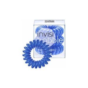 Резинки для волосся Invisibobble сині 3 шт - 00-00007609