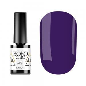 Гель-лак для нігтів Naomi Boho Chic №BC020 Щільний фіолетовий (емаль) 6 мл - 00-00007814