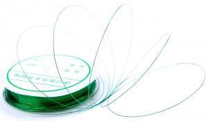 Нитка для декору нігтів зелена 3 мм