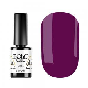 Гель-лак для нігтів Naomi  Boho Chic №BC061 Щільний виноградно-ягідний (емаль) 6 мл - 00-00008226
