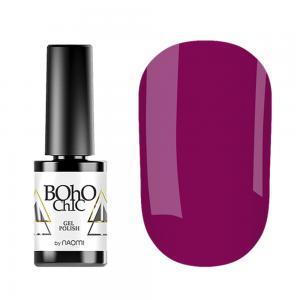 Гель-лак для нігтів Naomi Boho Chic №BC063 Щільний ягідний (емаль) 6 мл - 00-00008228