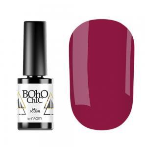 Гель-лак для нігтів Naomi Boho Chic №BC066 Щільний винний (емаль) 6 мл - 00-00008231