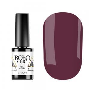 Гель-лак для нігтів Naomi Boho Chic №BC070 Щільний світла марсала (емаль) 6 мл - 00-00008235