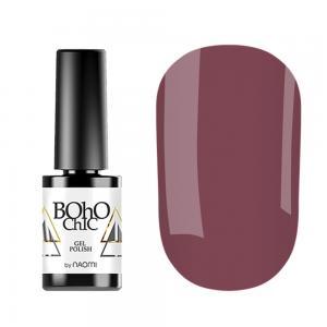 Гель-лак для нігтів Naomi Boho Chic №BC071 Щільний карамельний лате (емаль) 6 мл - 00-00008236