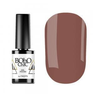 Гель-лак для нігтів Naomi Boho Chic №BC074 Щільний кремово-теракотовий (емаль) 6 мл - 00-00008239