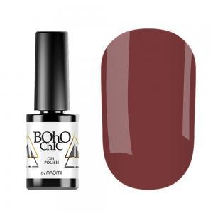 Гель-лак для нігтів Naomi Boho Chic №BC075 Щільний насичений теракотовий (емаль) 6 мл - 00-00008240