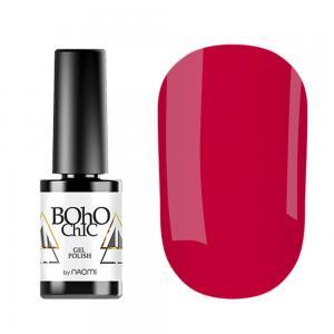 Гель-лак для нігтів Naomi Boho Chic №BC076 Щільний коралово-червоний (емаль) 6 мл - 00-00008241