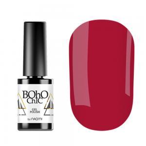 Гель-лак для нігтів Naomi Boho Chic №BC077 Щільний яскраво-червоний (емаль) 6 мл - 00-00008242