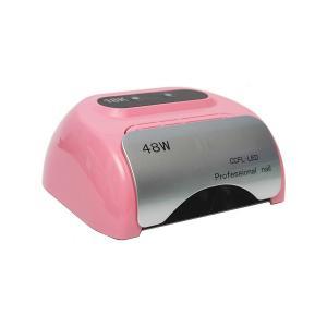 Професійна CCFL LED-лампа для полімеризації гелю, світло-рожева 48W - 00-00008328