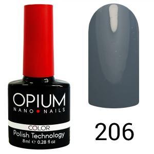 Гель-лак для ногтей Opium №206 8 мл - 00-00008419