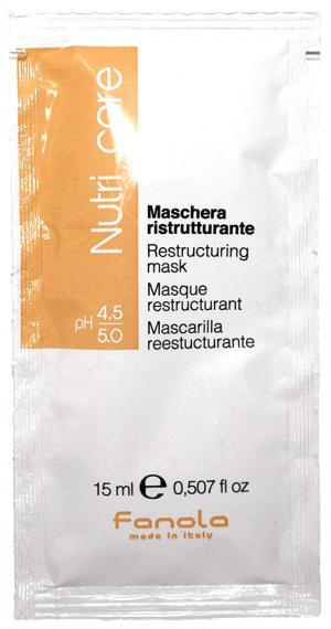 Пробник маска для сухого волосся Fanola 15 мл - 00-00008470