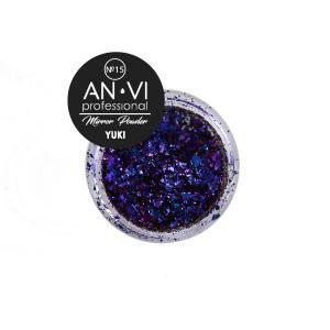 Дзеркальна пудра YUKI №15 'Distant Galaxy' 1.2 г. ANVI Professional - 00-00008529