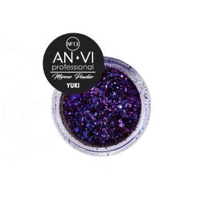 Дзеркальна пудра YUKI №13 'Space Heartbeat' 1.2 г. ANVI Professional - 00-00008535