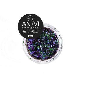 Дзеркальна пудра YUKI №19 'Marvel Nephrite' 1.2 г. ANVI Professional - 00-00008536