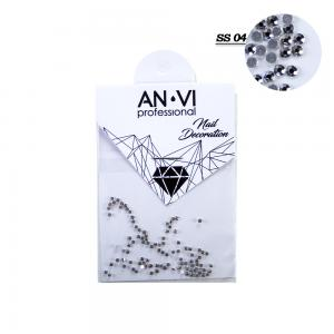 Стразы для дизайна ногтей Swarovski ANVI Professional 'Crystal Pixie' №SS04, 100 шт - 00-00008542