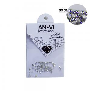 Стразы для дизайна ногтей Swarovski ANVI Professional 'Crystal Pixie' №SS05, 100 шт - 00-00008543