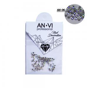 Стразы для дизайна ногтей Swarovski ANVI Professional 'Crystal Pixie' №SS06, 100 шт - 00-00008544