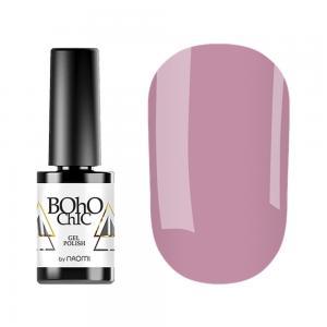 Гель-лак для нігтів Naomi Boho Chic №BC103 Щільний теплий рожевий (емаль) 6 мл - 00-00008549