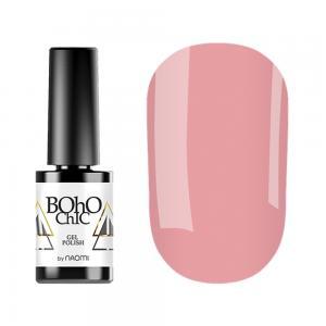 Гель-лак для нігтів Naomi Boho Chic №BC106 Щільний м'який рожево-лососевий (емаль) 6 мл - 00-00008583