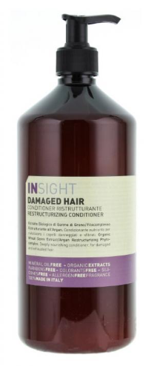 Кондиціонер для відновлення пошкодженого волосся Insight 1000 мл - 00-00008595