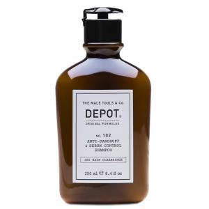 Шампунь проти лупи для жирної шкіри голови Depot №102 10 мл - 00-00008618