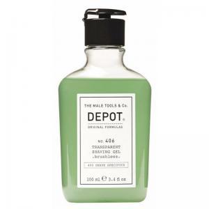 Прозорий гель для гоління Depot №406 10 мл - 00-00008633