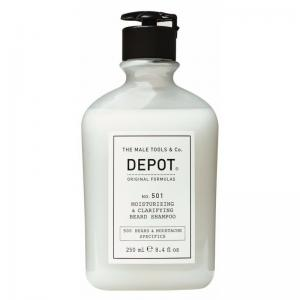 Очищаючий і зволожуючий шампунь для бороди Depot №501 250 мл - 00-00008639