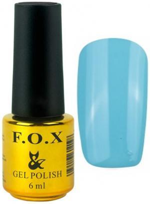 Гель-лак для нігтів FOX №117 Блакитний 6 мл - 00-00008651