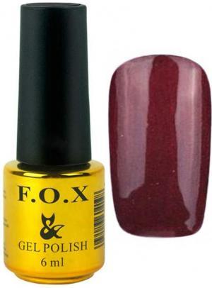 Гель-лак для нігтів FOX №119 Вишневий 6 мл - 00-00008653