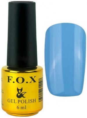 Гель-лак для нігтів FOX №120 Блакитний 6 мл - 00-00008654