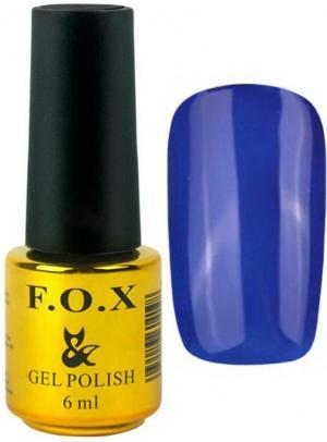 Гель-лак для нігтів FOX №122 Світло-синій 6 мл - 00-00008656