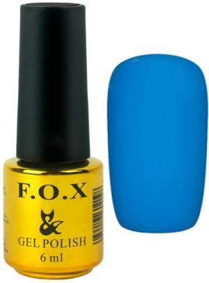 Гель-лак для нігтів FOX №126 Лазурний 6 мл - 00-00008660