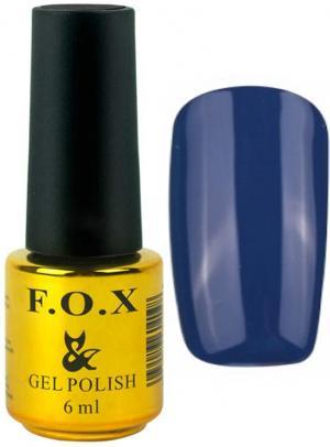 Гель-лак для нігтів FOX №128 Темно-синій 6 мл - 00-00008662