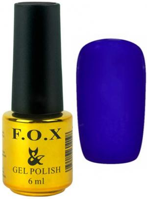 Гель-лак для нігтів FOX №131 Сапфіровий 6 мл - 00-00008665