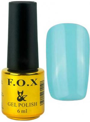 Гель-лак для нігтів FOX №133 Голубий 6 мл - 00-00008667
