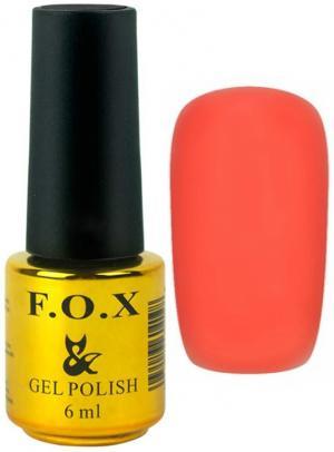Гель-лак для нігтів FOX №136 Оранжевий 6 мл - 00-00008670